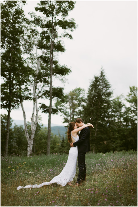 Outdoor Wedding at the Lake Placid Olympic Sports Complex | Hudson Valley Wedding Photographer