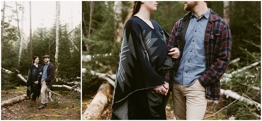 Intimate wedding photographer in Lake Placid by Mountainaire Gatherings