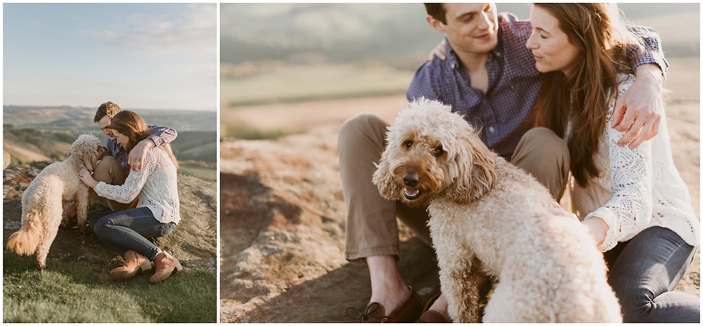 Sheffield outdoor elopement photography by Mountainaire Gatherings