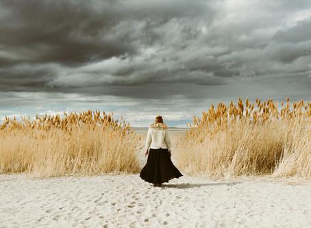Adventurous Portrait Session at Antelope Island | Utah Wedding & Elopement Photographer