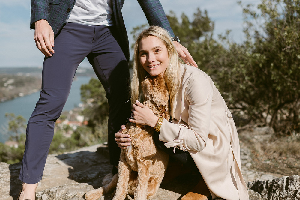 Spring engagement session at Mount Bonnell in Austin, Texas | Mountainaire Gatherings