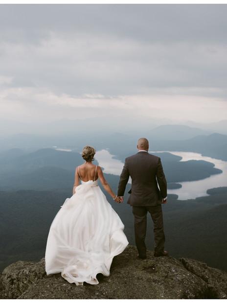 Emma & Neil's Whiteface Mountain Wedding