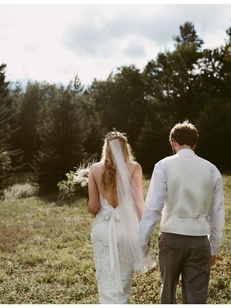 Stanzi & Evan's Outdoor Summer Wedding in Lake Placid