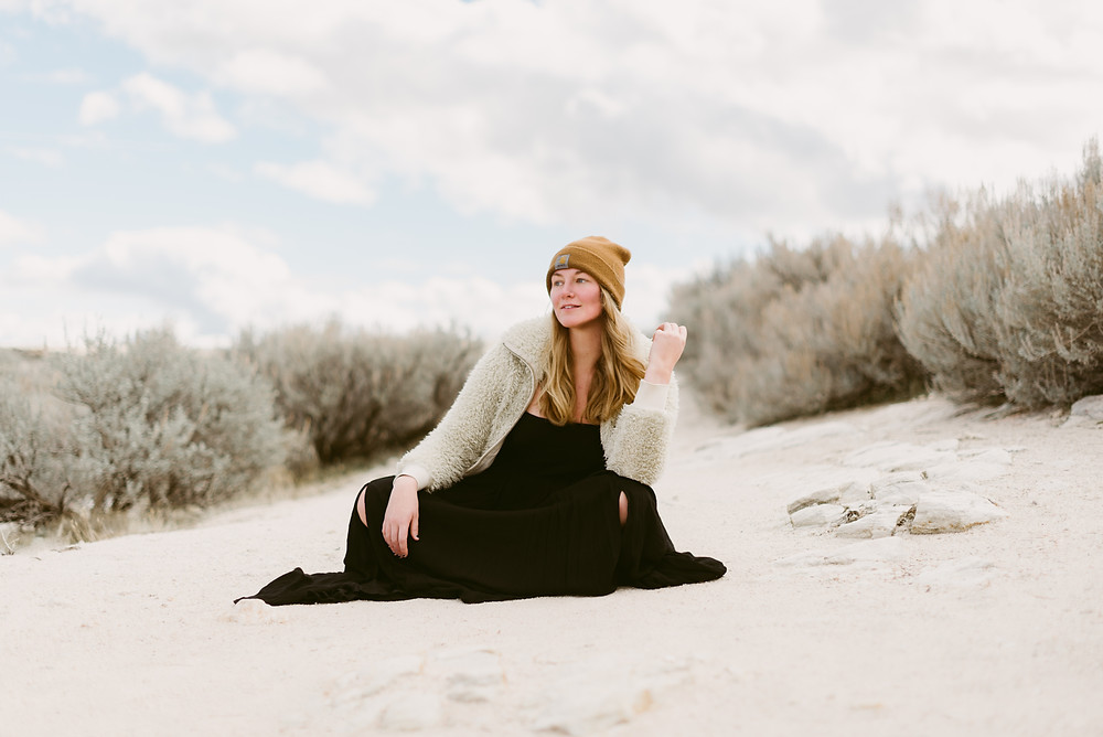 Antelope Island Portrait Session | Antelope Island, Utah Elopement Photographer