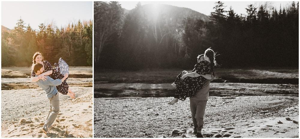 Outdoor adventure wedding photographer in the Catskills