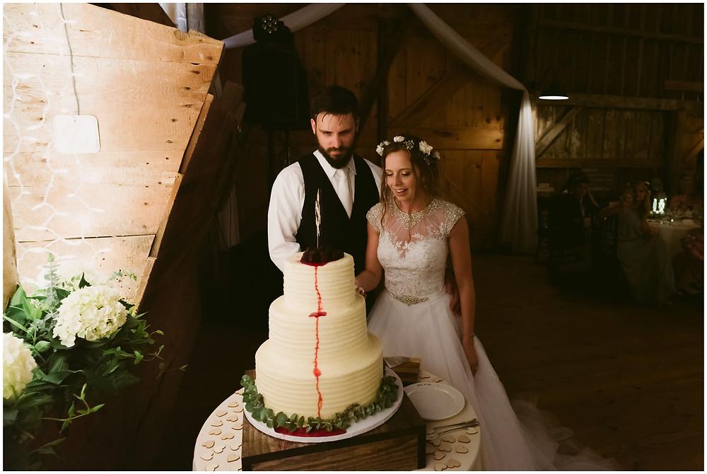 Summer barn wedding at Worsell Manor in Warwick, Maryland