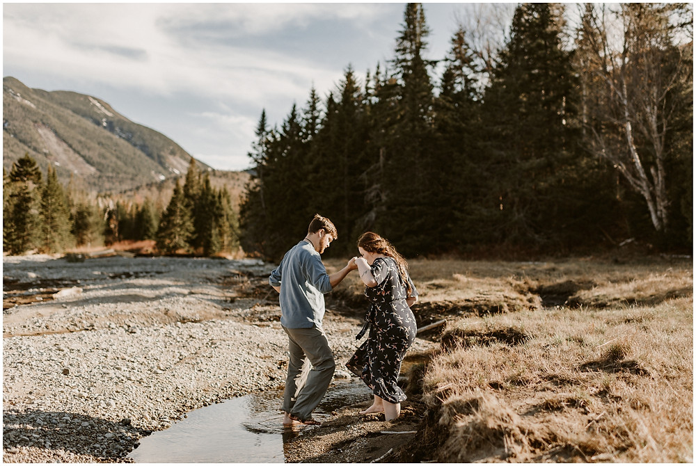 Adventurous wedding photos in Lake Placid, NY by Mountainaire Gatherings