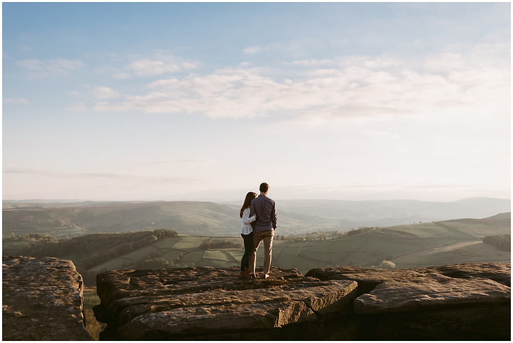 Sunny Sheffield engagement session by Mountainaire Gatherings