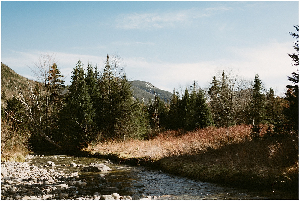 Camping Engagement Photos in the Adirondack Mountains by Mountainaire Gatherings