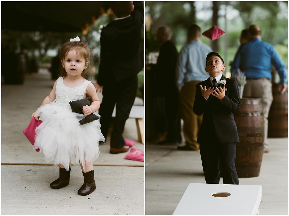 Summer Barn wedding in Warwick, Maryland