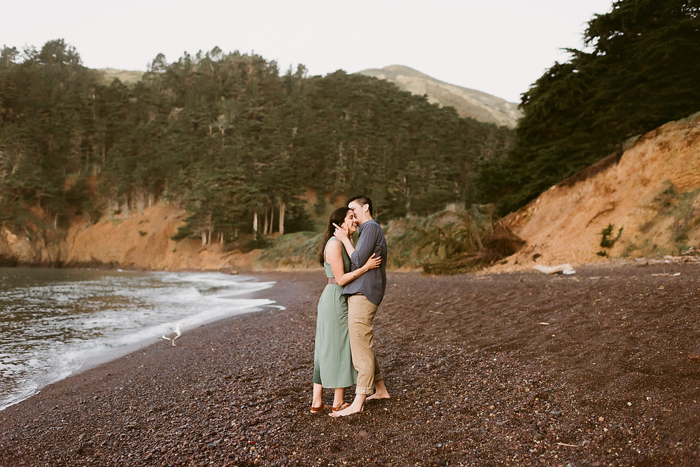 Kirby Cove Engagement Photos | San Francisco Wedding & Elopement Photographer