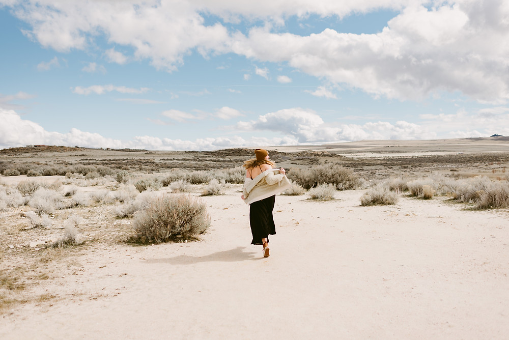 Antelope Island, Utah Adventure Session | Antelope Island Wedding Photographer