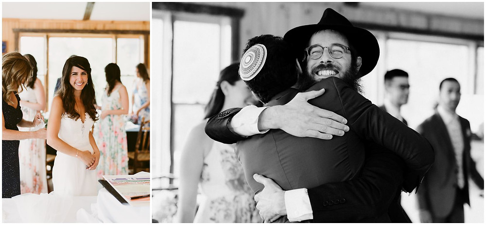 Jewish wedding photographer in upstate New York