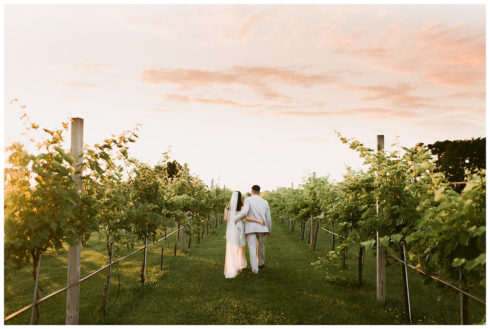 Upstate New York Vineyard Wedding by Mountainaire Gatherings