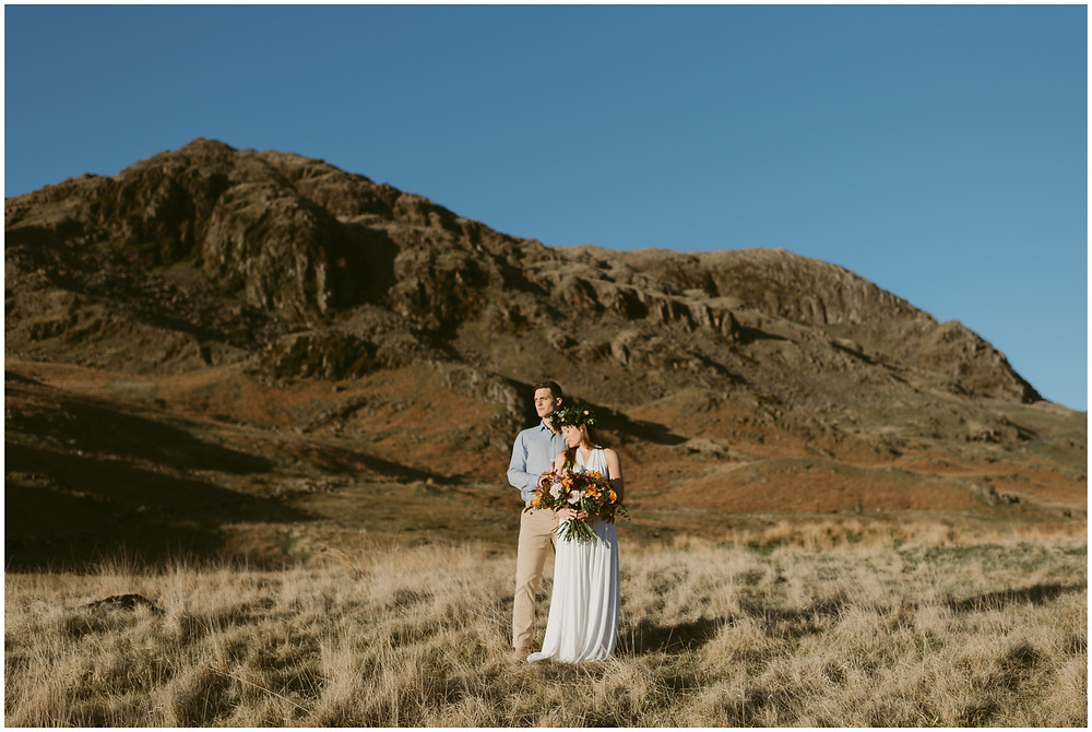 Outdoor elopement in the Lake District, UK
