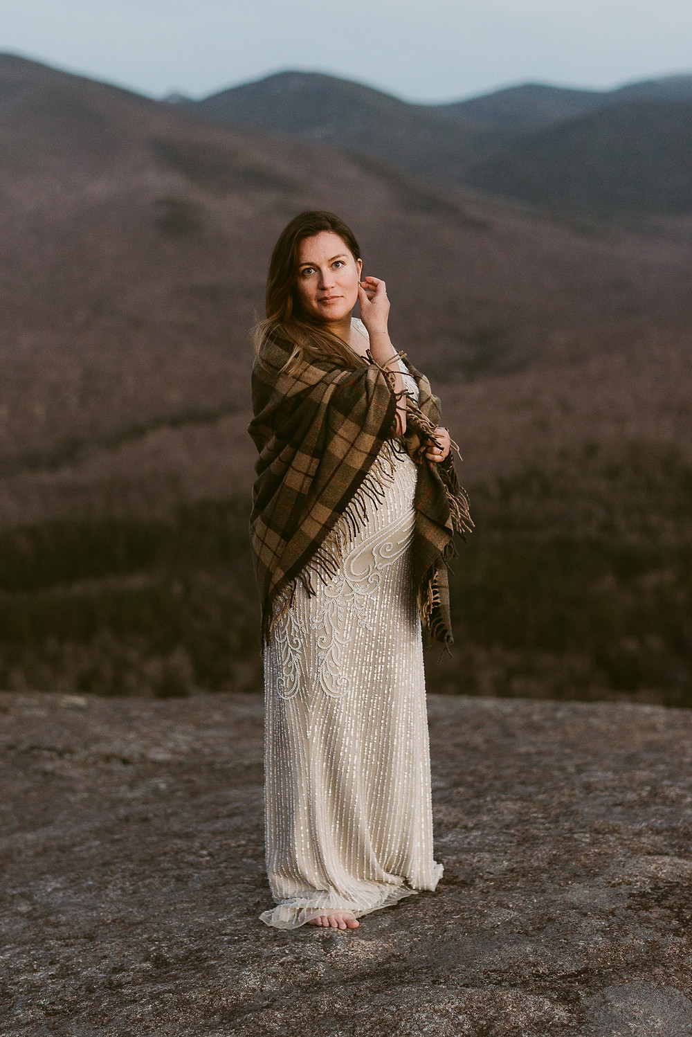 Adventurous Maternity Session in Lake Placid | Adirondack Photographer