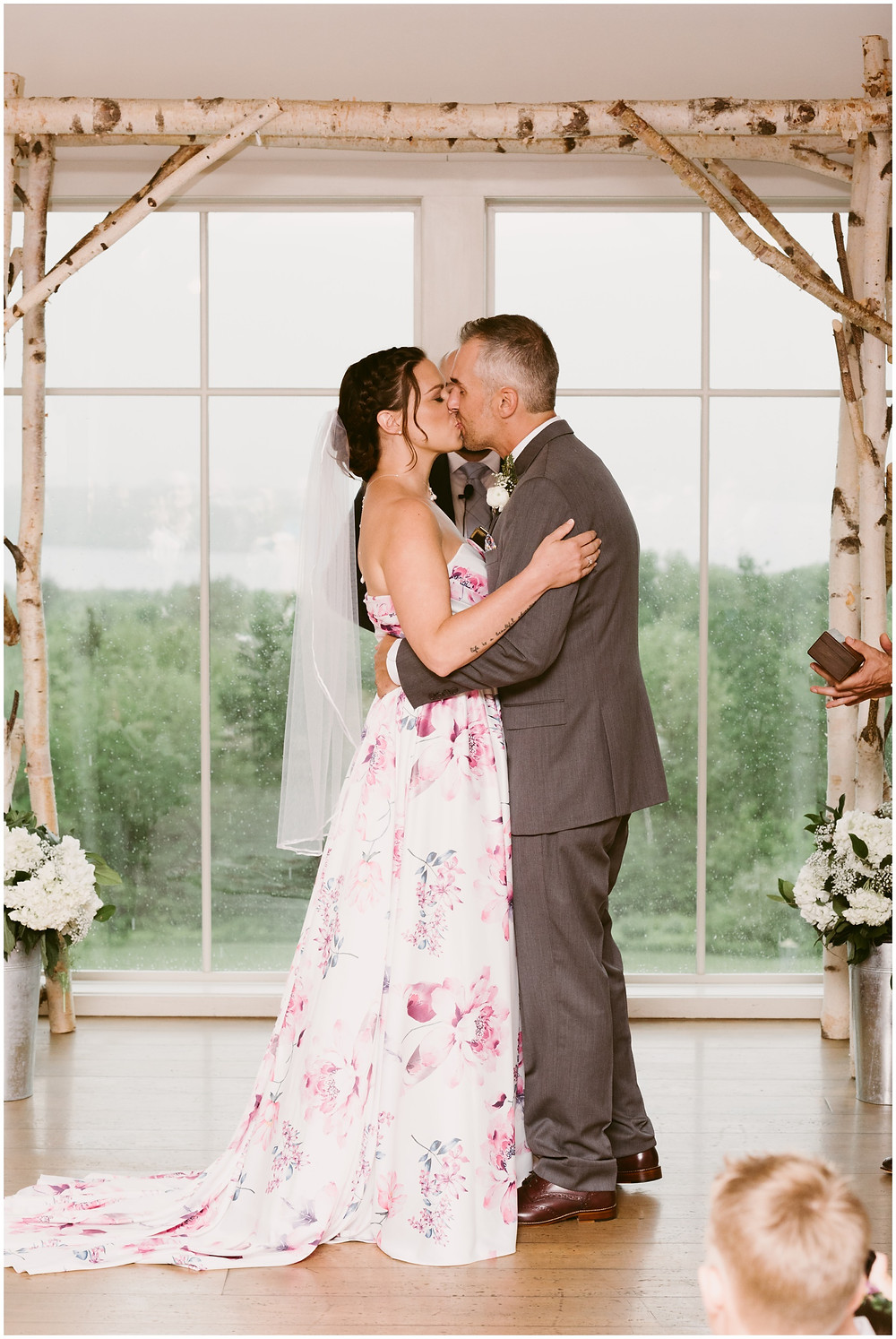 Rainy wedding at the Mountain Top Inn and Resort