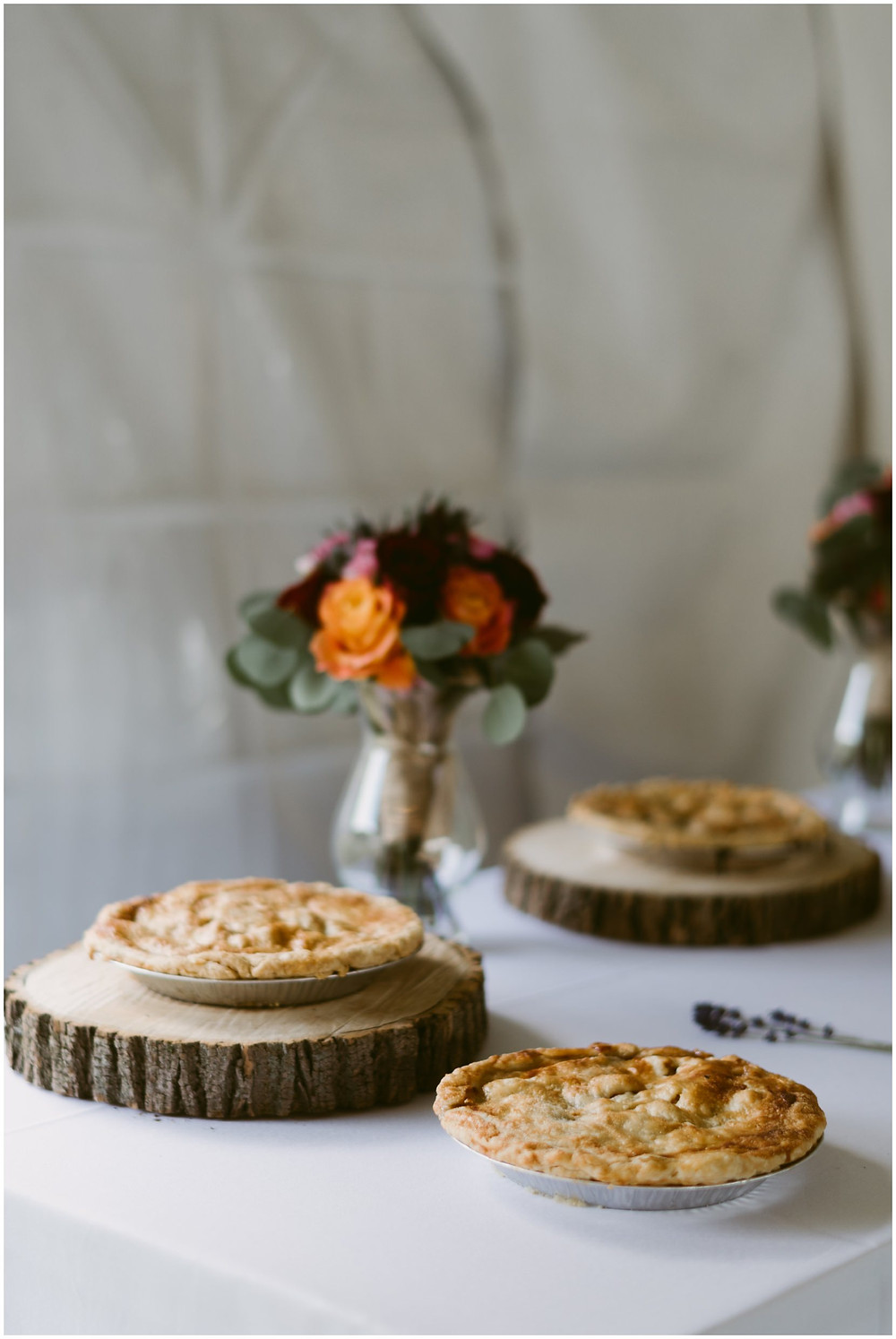 wedding pies by adirondack bakery