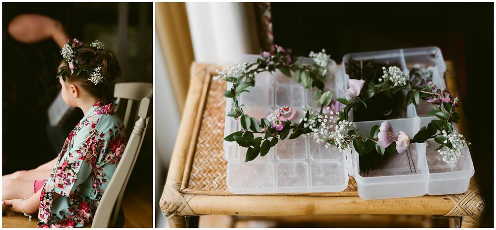 Rustic barn wedding in New England
