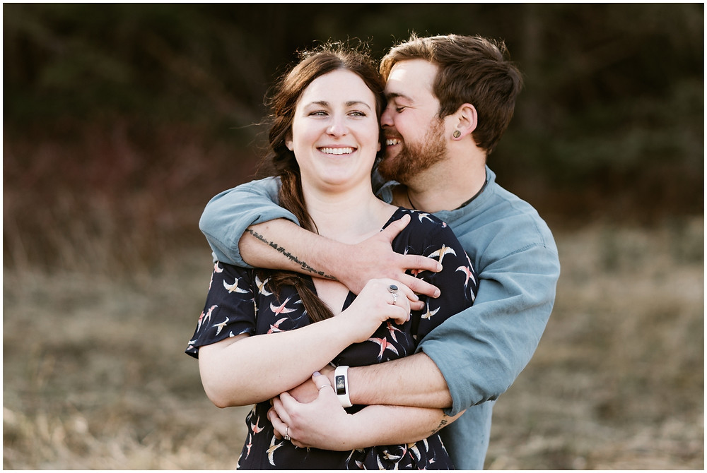 Authentic engagement photos in upstate NY