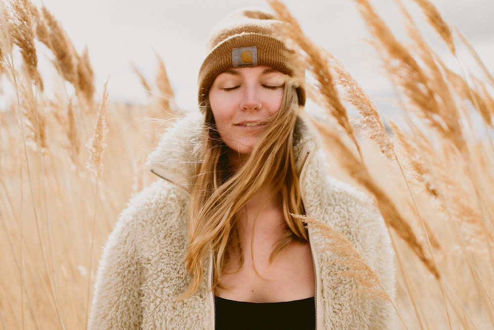 Free People Portrait Session | Antelope Island, Utah