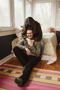 Cozy In-Home Session in upstate NY by Ad