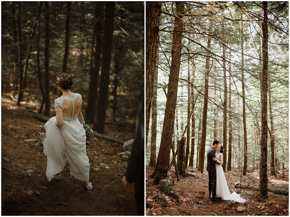 wedding at pok-o-maccready camp