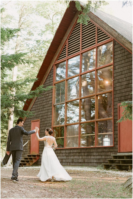 upstate new york summer camp wedding