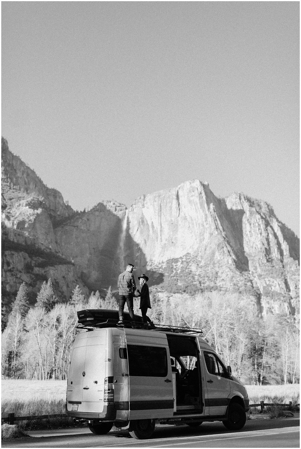 Yosemite engagement photos by Mountainaire Gatherings