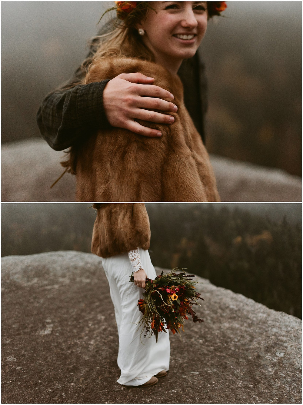 Adventurous adirondack bride in the wild by Mountainaire Gatherings