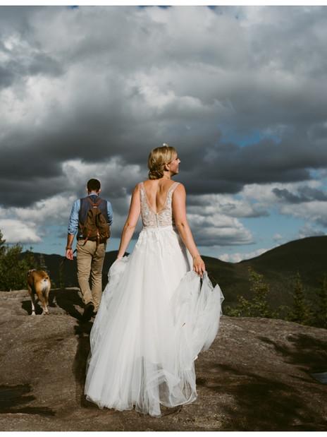 Intimate Wedding at the Adirondak Loj