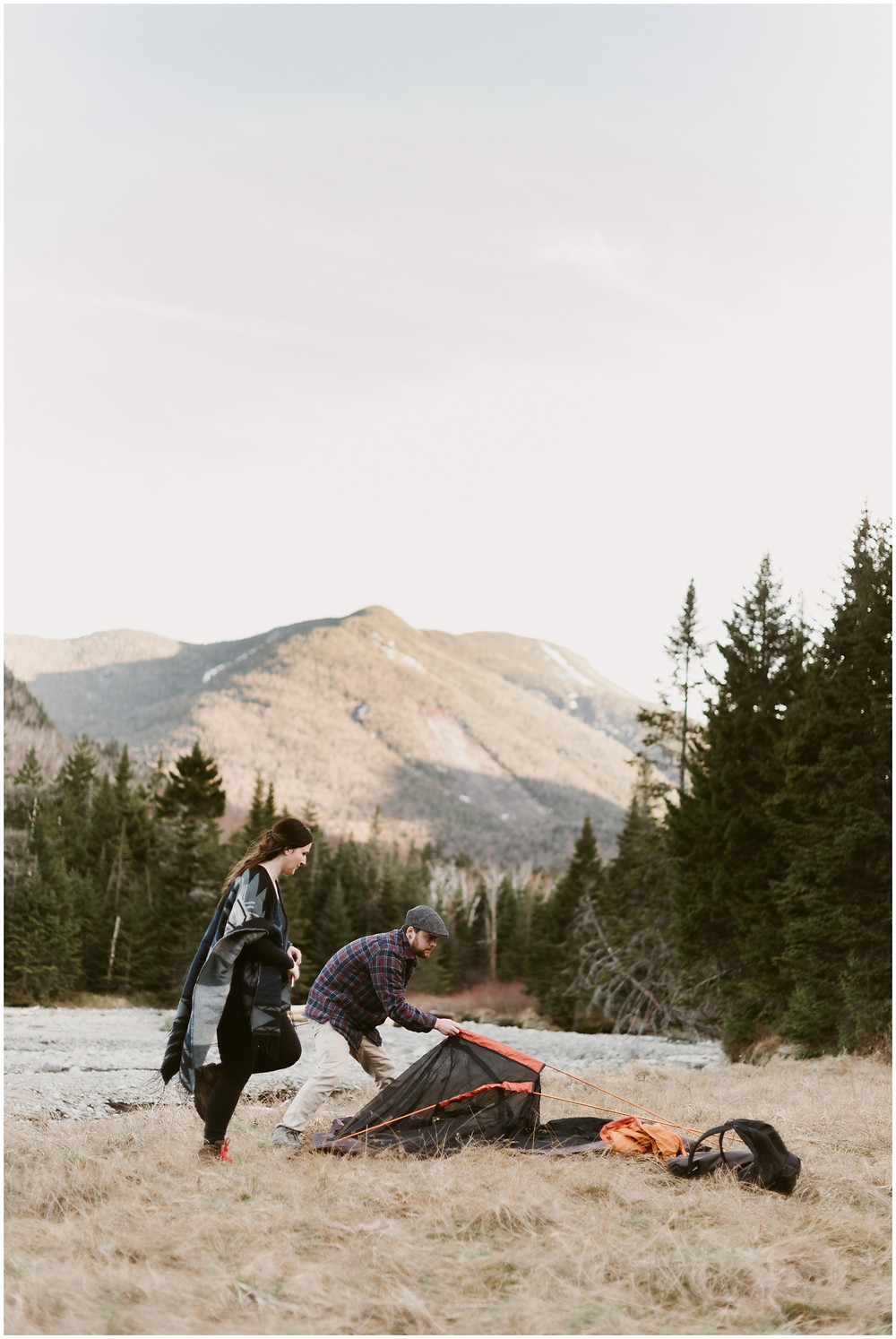 Lifestyle camping photographs in upstate New York by Mountainaire Gatherings