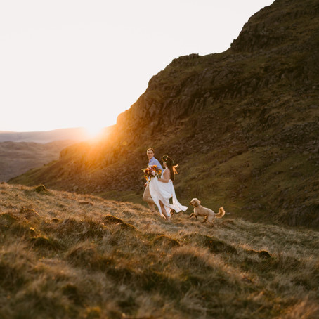 Boho Styled Elopement | Lake District, England | UK Outdoor Elopement Photographer
