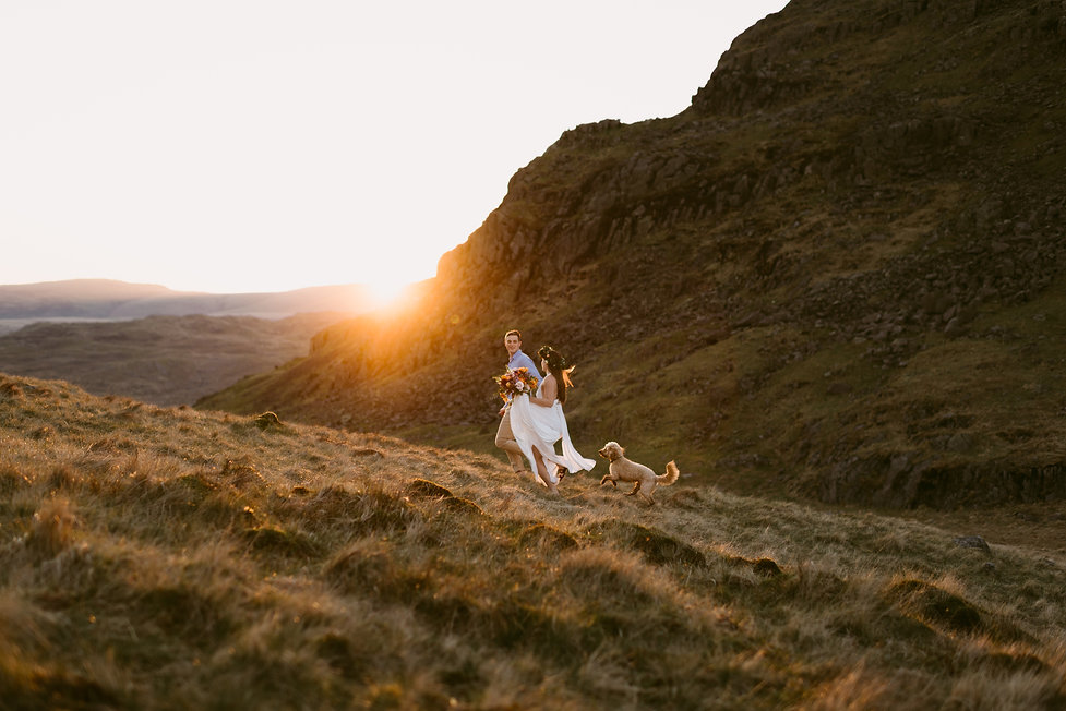Lake District, UK elopement photograph taken by upstate New York wedding photographer Mountainaire Gathering