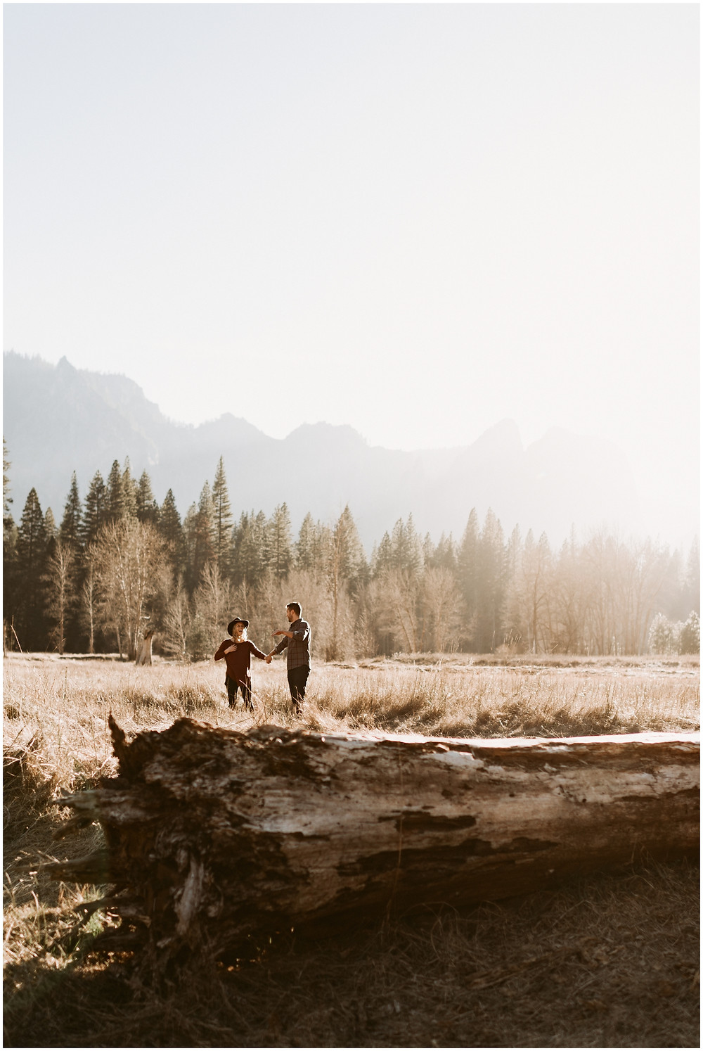 Boho, laid-back couple's session in Yosemite, California by Mountainaire Gatherings