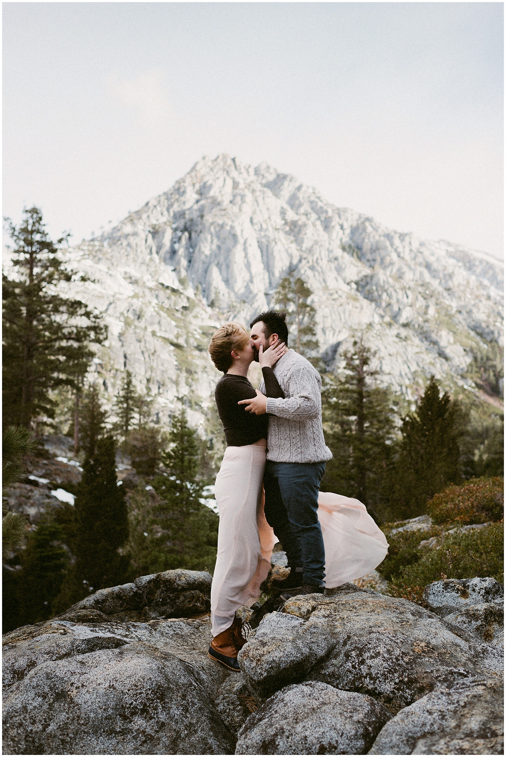 Eagle Lake elopement photos