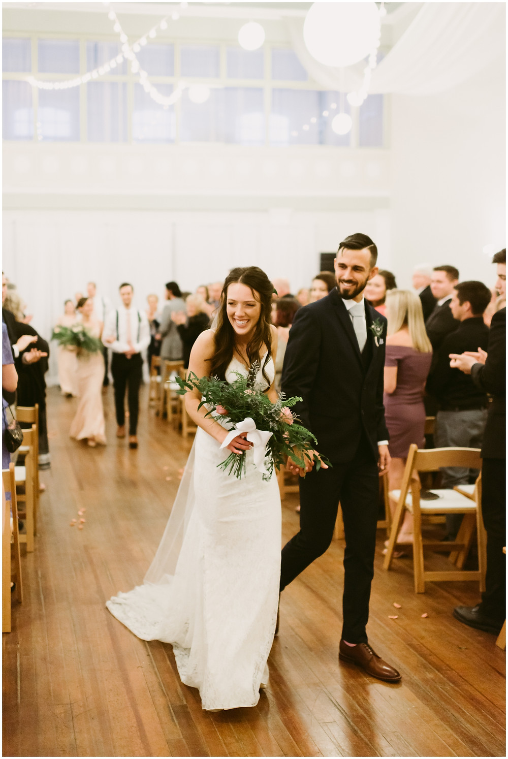 Spring wedding at the Takk House in upstate NY by Mountainaire Gatherings