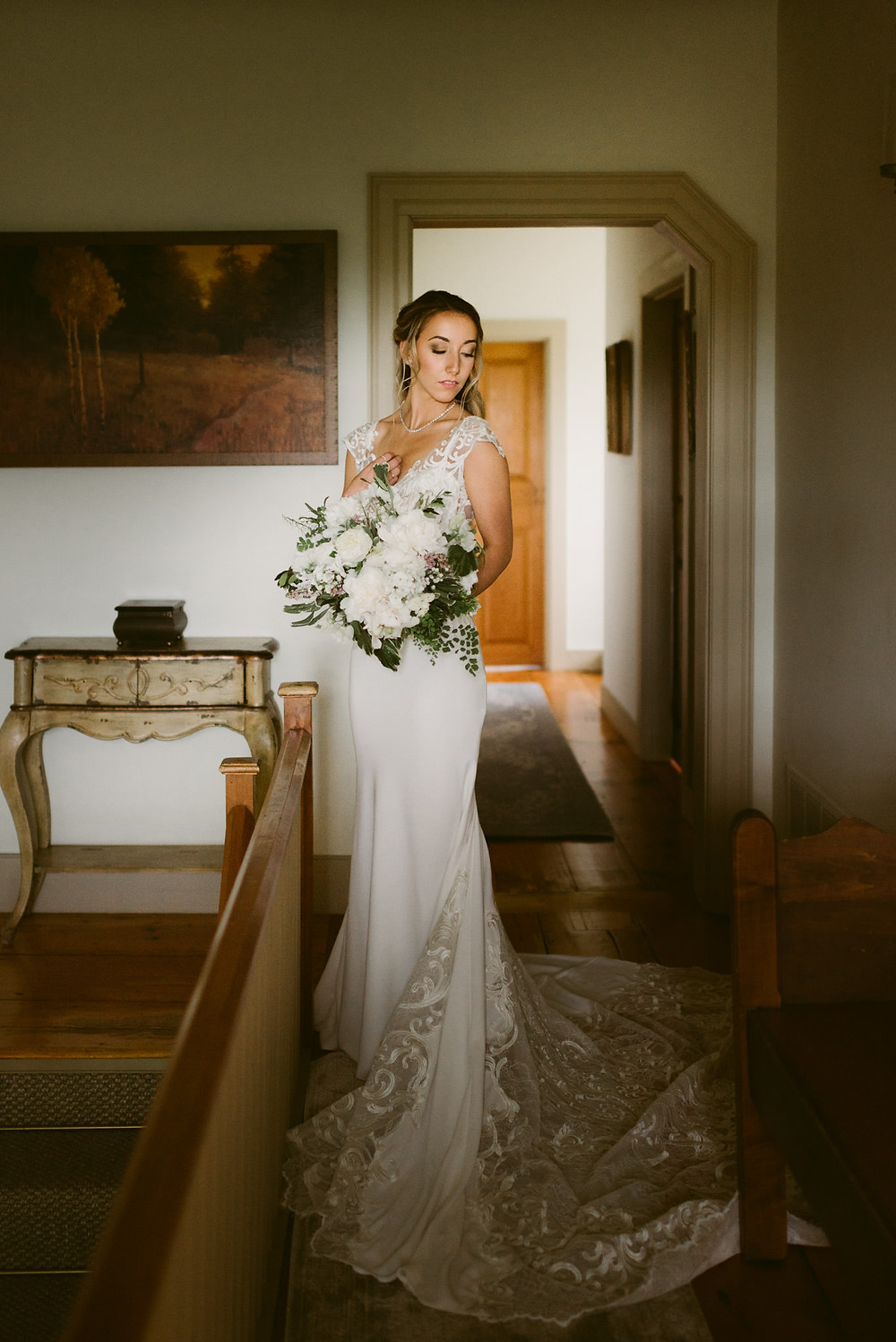 Romantic Spring Wedding at a Thoroughbred Farm in Saratoga Springs, NY