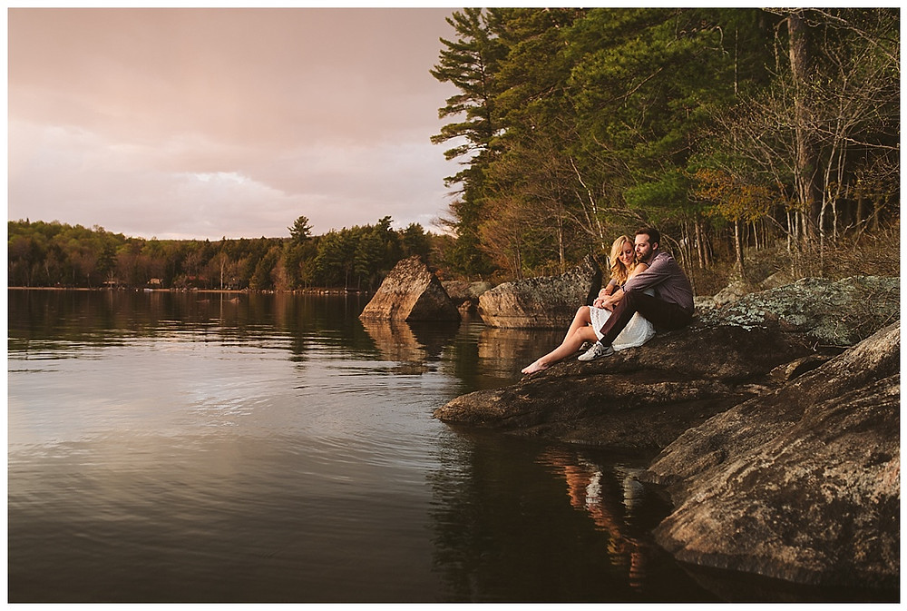 Mountainaire Gatherings Photography ADK Engagement Session