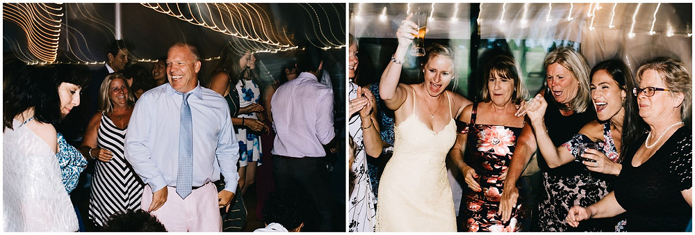 casual summer wedding in the hudson valley, ny
