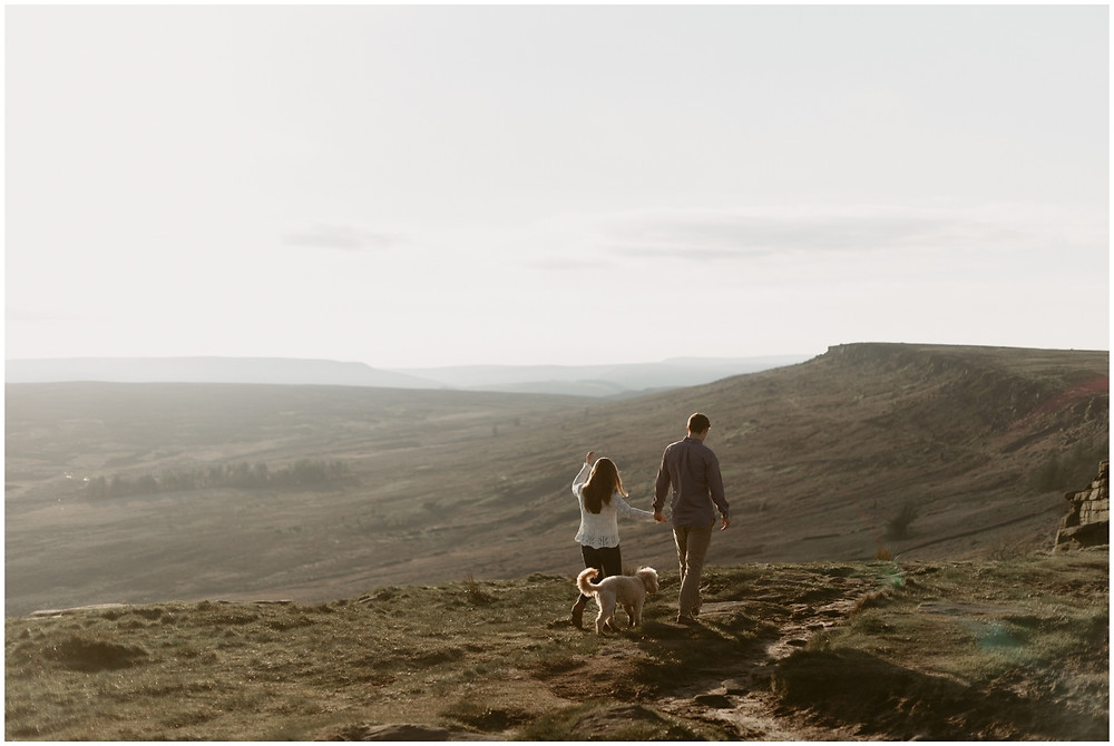 Outdoor engagement photography in the United Kingdom by Mountainaire Gatherings