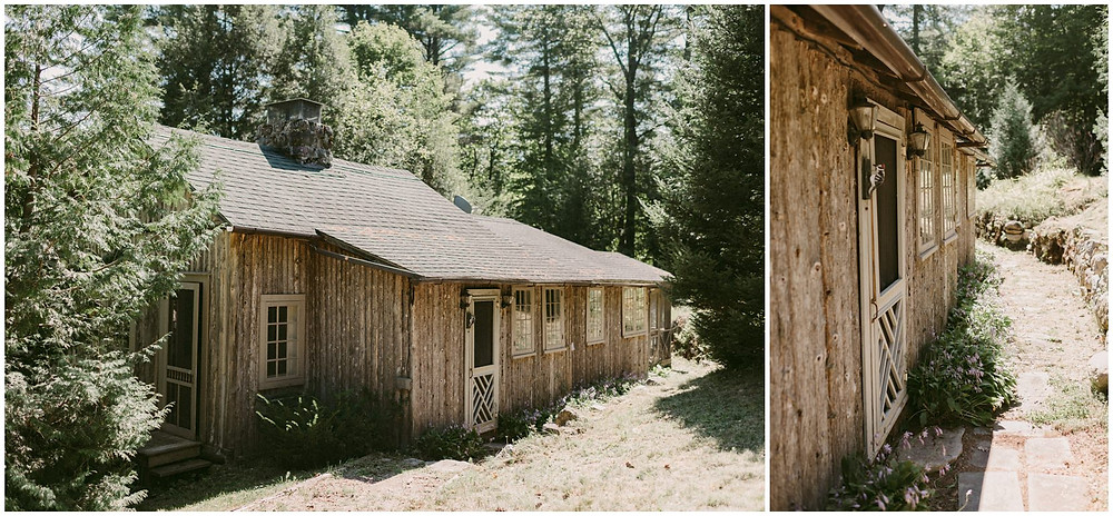 summer camp elopement photography