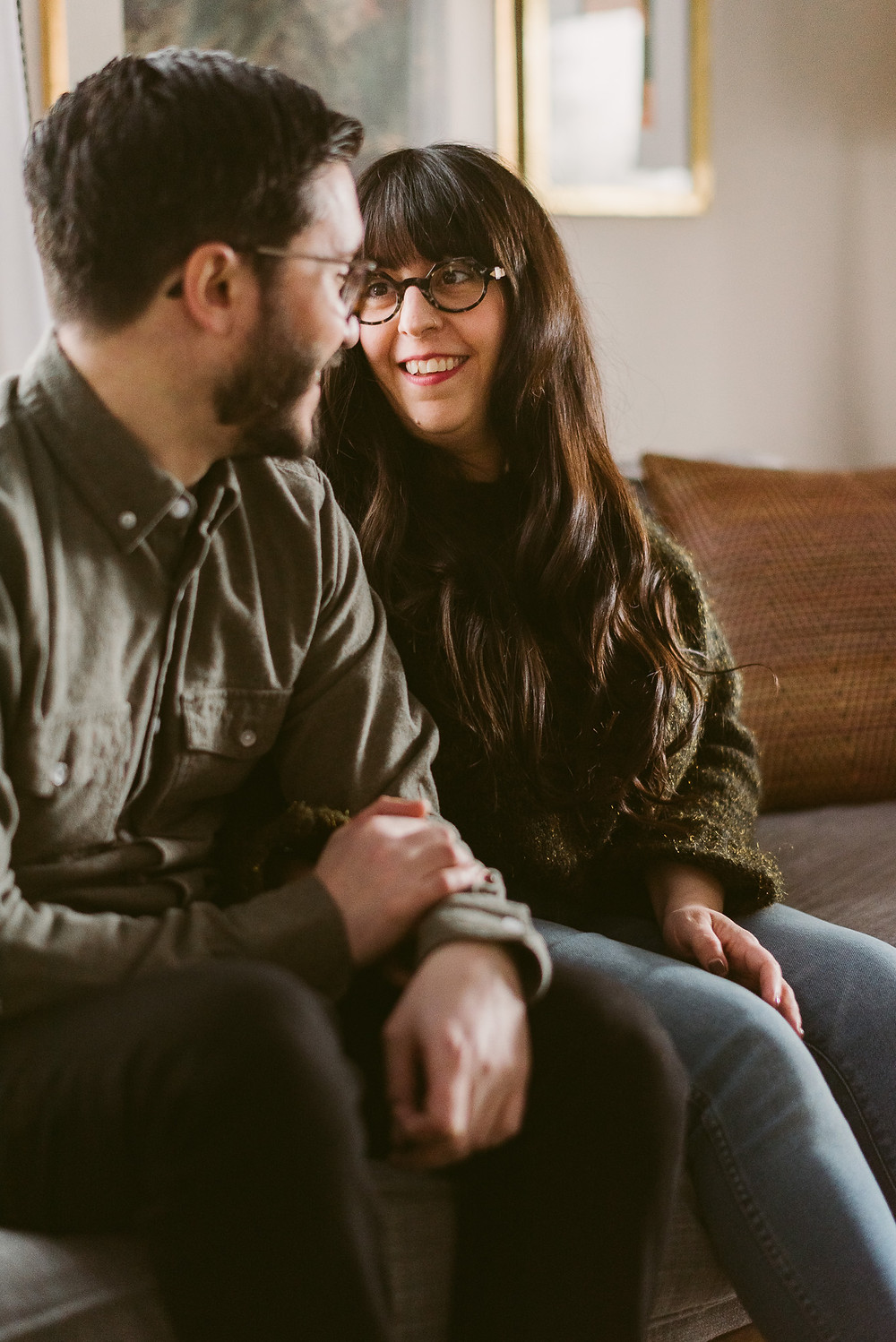 Homey Engagement Session in Upstate New York by Adirondack Wedding Photographer, Mountainaire Gatherings