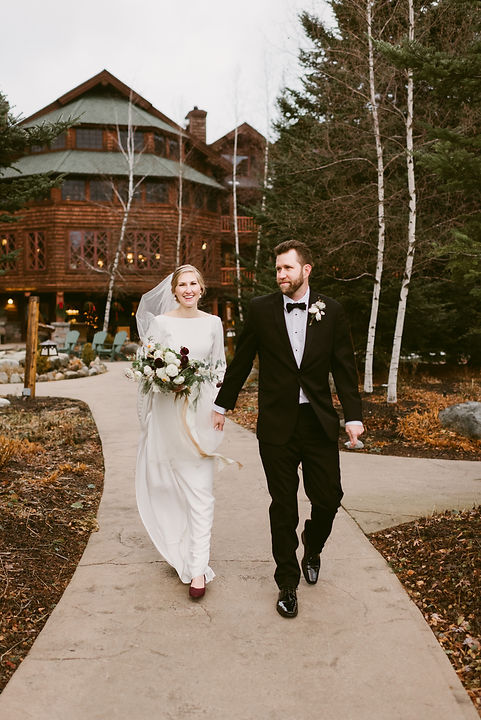 Formal Winter Wedding at the Whiteface L