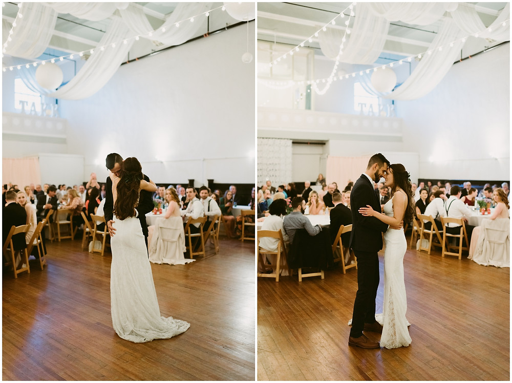 Romantic, spring wedding at the Takk House in Troy, NY by Mountainaire Gatherings