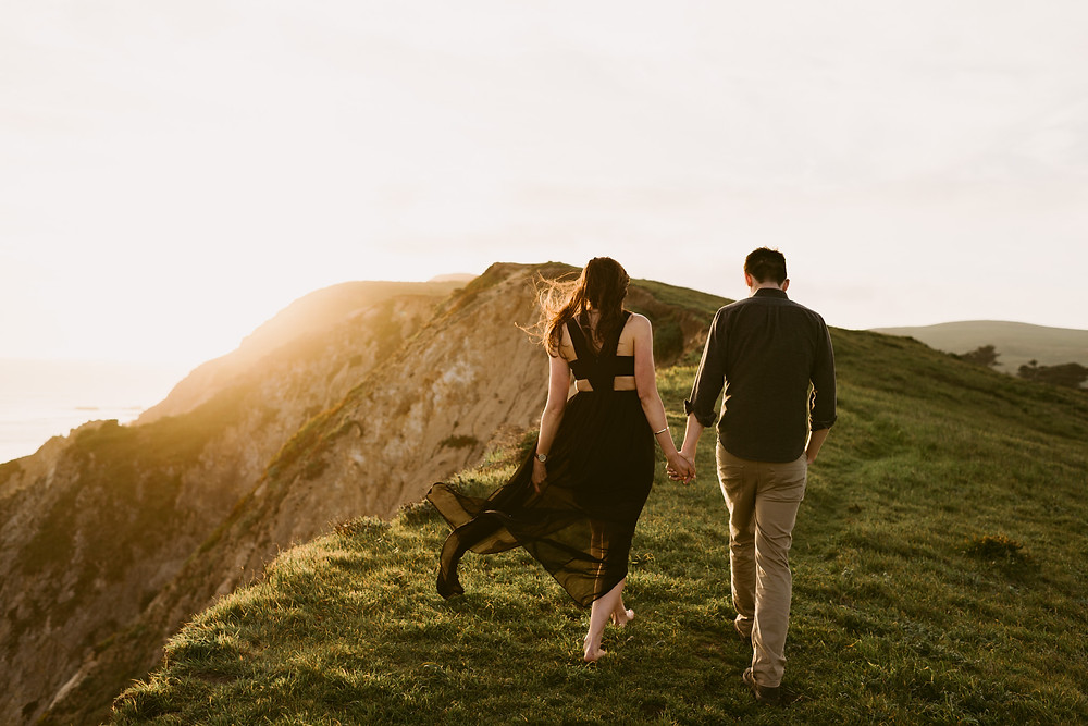 Beautiful California Engagement Session at Point Reyes
