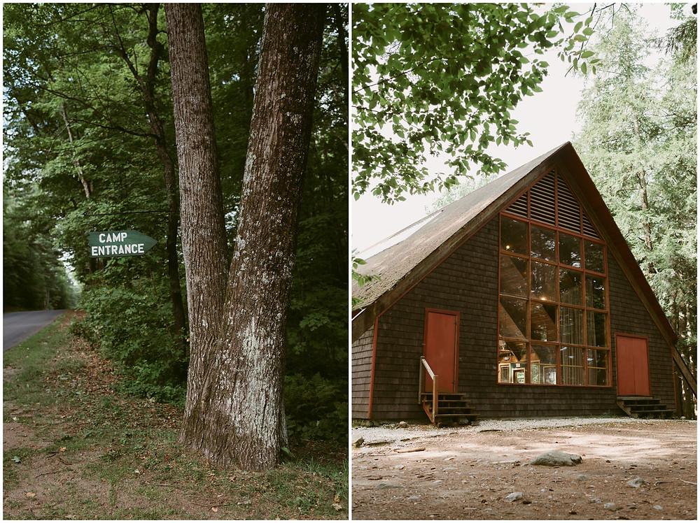 summer camp wedding photographer