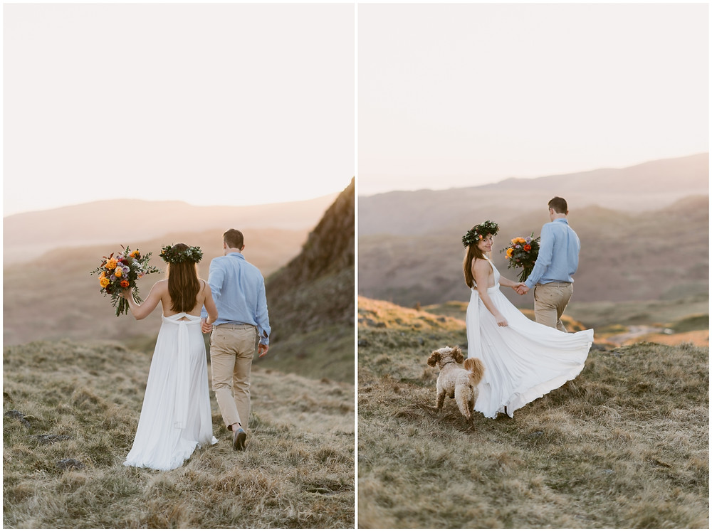 Outdoor adventure wedding photographer in the United Kingdom