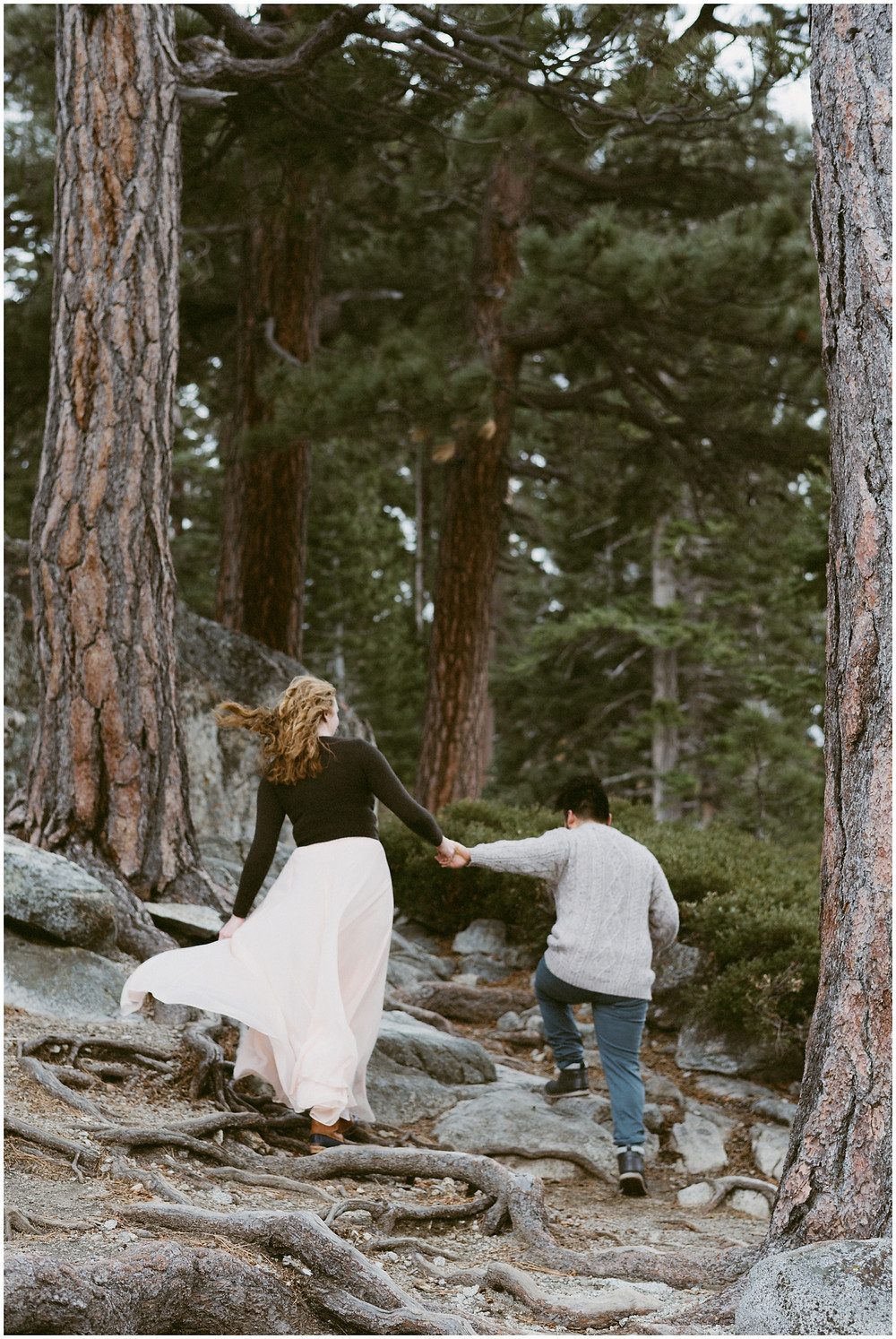 Eagle Lake elopement in the Desolation Wilderness