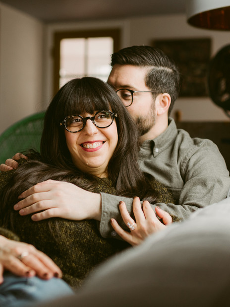 Cozy Upstate New York In-Home Session | Mountainaire Gatherings